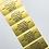 Thumbnail: Gold Basic Plain Paper Craft Labels (50mm x 25mm)