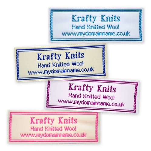 Wide Craft Light Border Labels