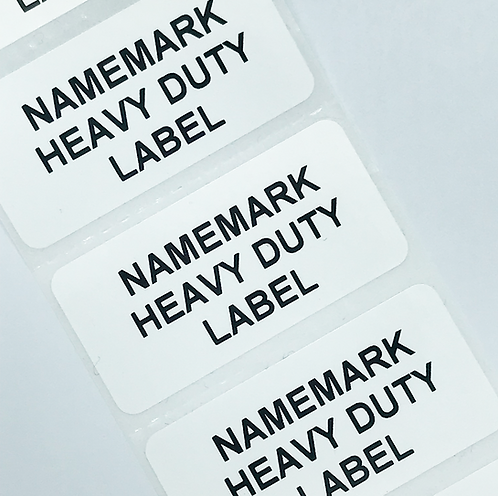 White Heavy Duty Address Labels (50mm x 25mm)