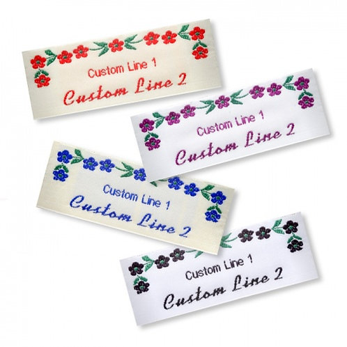 Wide Craft Flower Labels