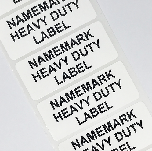 White Heavy Duty Address Labels (45mm x 20mm)