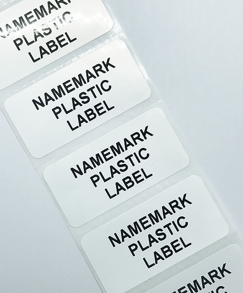 White Waterproof Address Labels (50mm x 25mm)