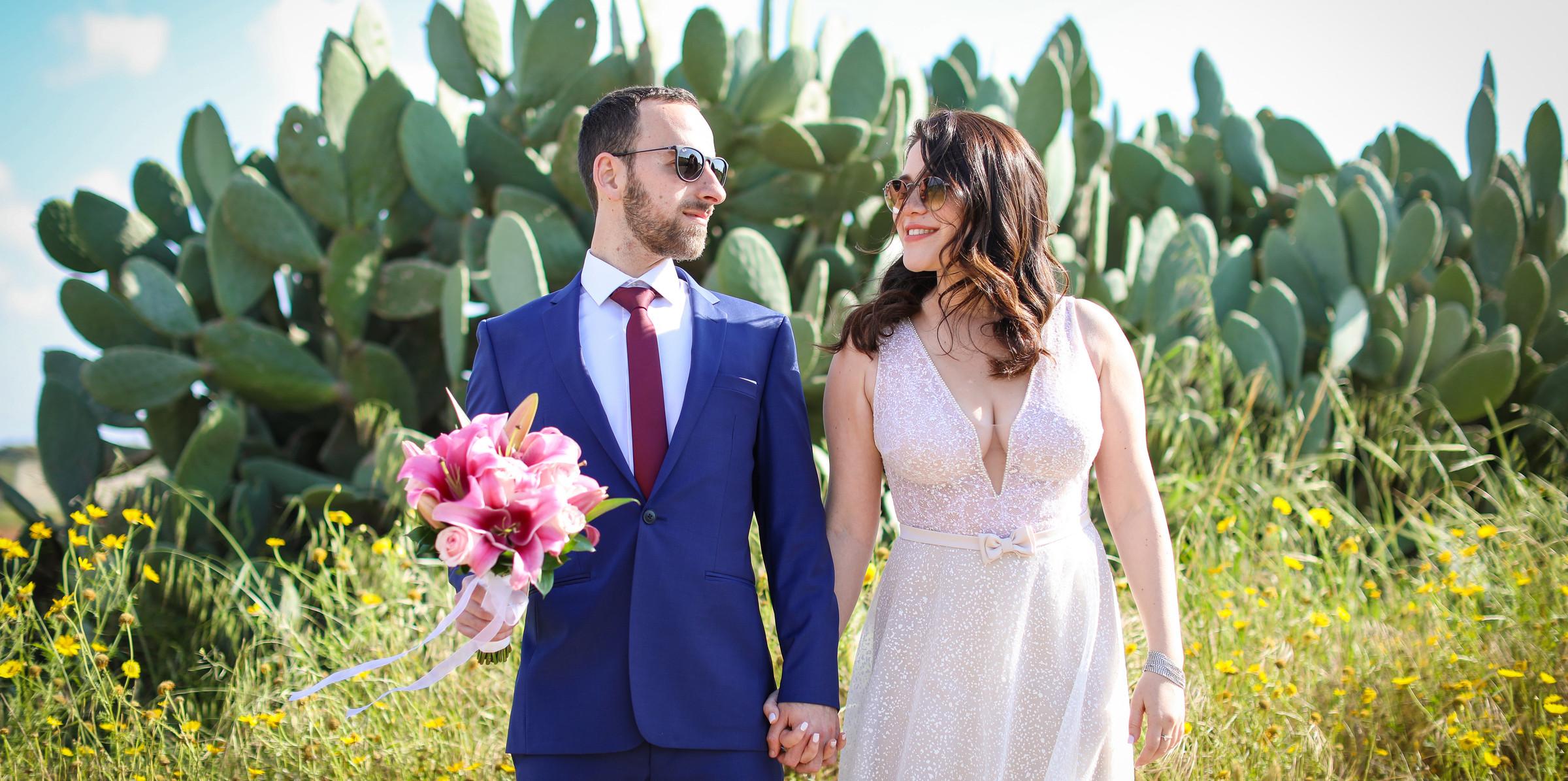 החתונה של אירה ובוריס 18.4.2019 חוץ-390.
