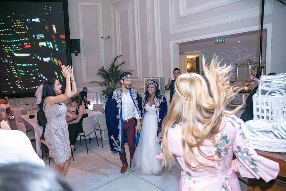 החתונה של קוקיט ואריאל 14.11.2019 ריקודי