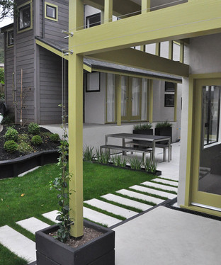 Wire design for porch