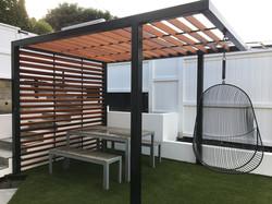 Pergola designed by Mosaicdesign