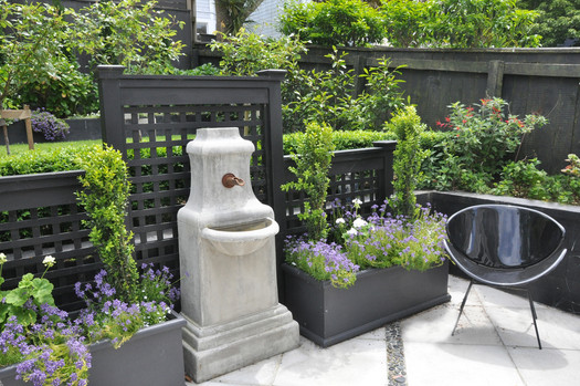 Fountain and patio design