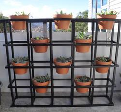 Apartment block planter