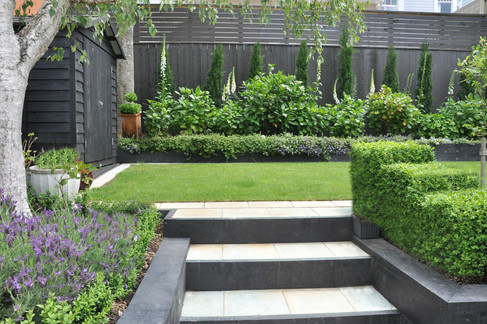 Back garden design by MosaicDesign