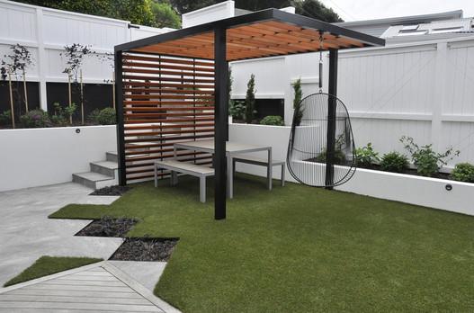 Garden and pergola design by Mosaicdesign