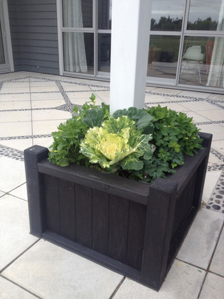 TImber planter box designed by Mosaicdesign