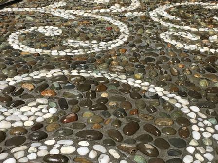 Stone mosaic by Mosaicdesign
