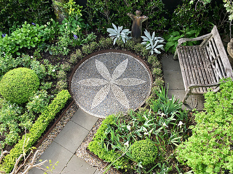 Stone mosaic design by Mosaicdesign