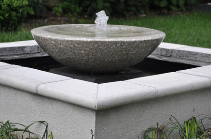 Fountain designed by Mosaicdesign