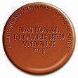 Supreme medal, National Flower Bed Winnter 2013