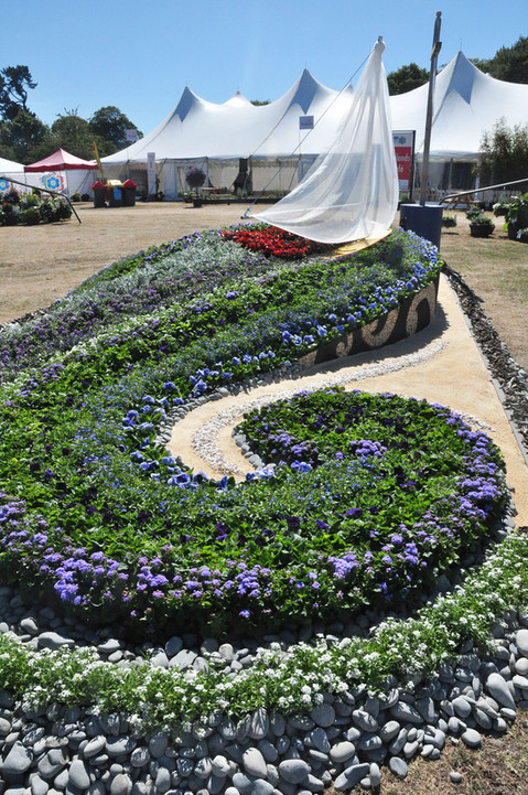 'City of Sails' garden designed by Mosaicdesign