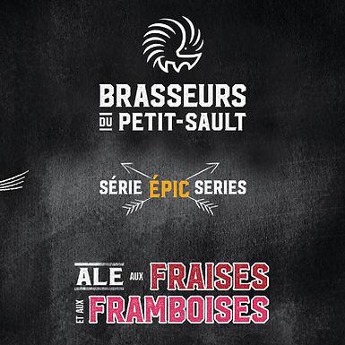 Fraises et Framboises, Série Épic 5.2% - 473 ml