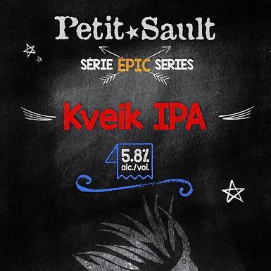 Kveik IPA, Série Épic - 5.8% - 473 ml