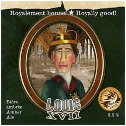Louis XVII Amber Ale Ambrée - 5.5% Keg