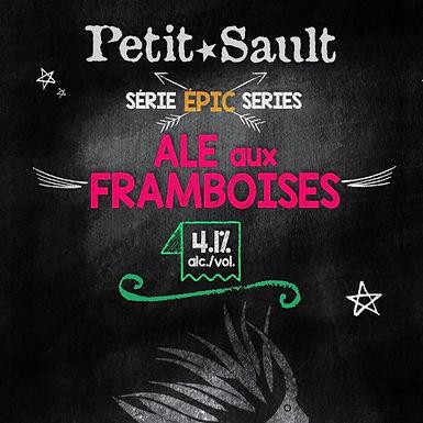 Ale aux Framboises, Série Épic - 4.1% - 473 ml