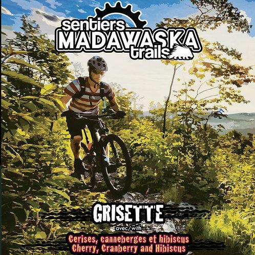 Cruchon 64oz - Sentiers Madawaska Trails Grisette cerises, canneberges, hibiscus