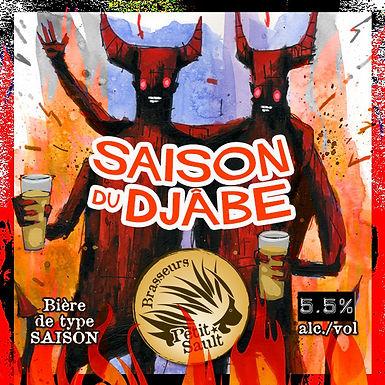 Saison du Djâbe- 5.5% Keg