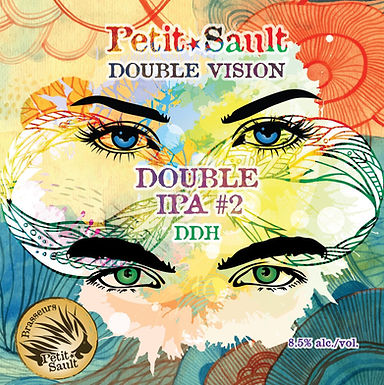 Cruchon 64oz - Double Vision #2