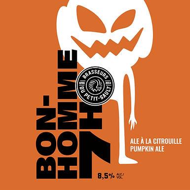 Cruchon 64oz - Bonhomme Sept-Heures