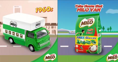 Milo Singapore's Mini Milo Vans Are Super Cute