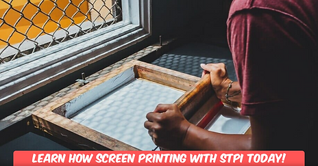 Learn How To Screen Print At STPI With Friends And Family!