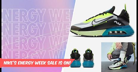 Top 5 Kicks From Nike Energy Week's Drops