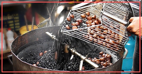 The Aroma Of Roasted Chestnuts In Singapore Fades