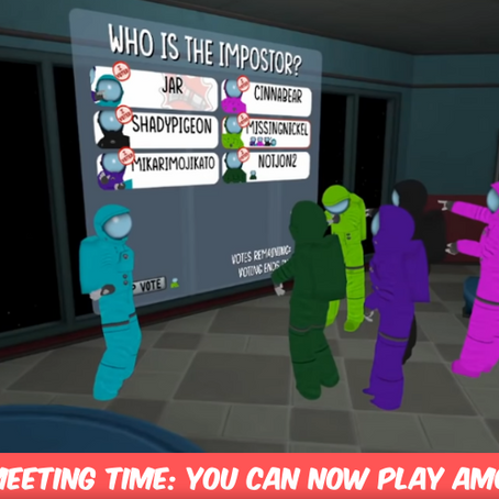 Call An Emergency Meeting! You Can Now Play Among Us In 3D!