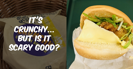 MOS Burger's Crunchy Chicken Burger: It's Crunchy But Is It Scary Good?