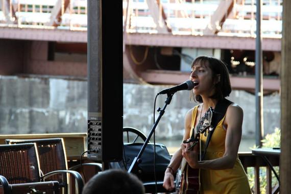 Kelly Izzo Shapiro at Toepath Cafe