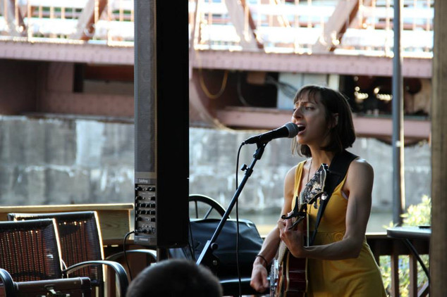 Kelly Izzo Shapiro at Toepath Cafe