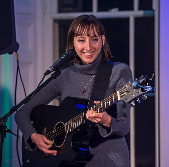Kelly Izzo Shapiro at Tango Cafe