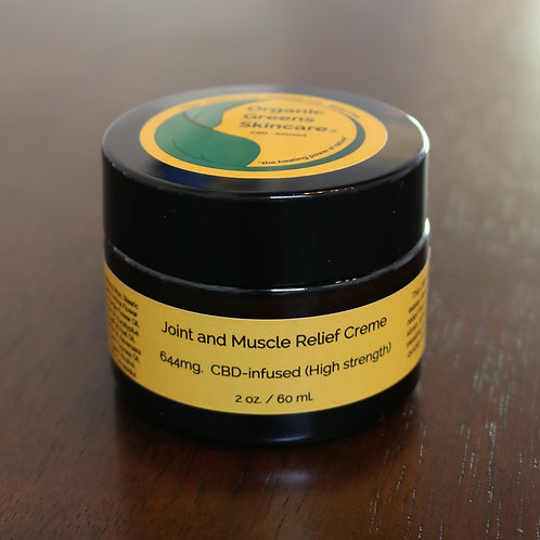 Joint & Muscle Relief Creme 2oz (High Strength)
