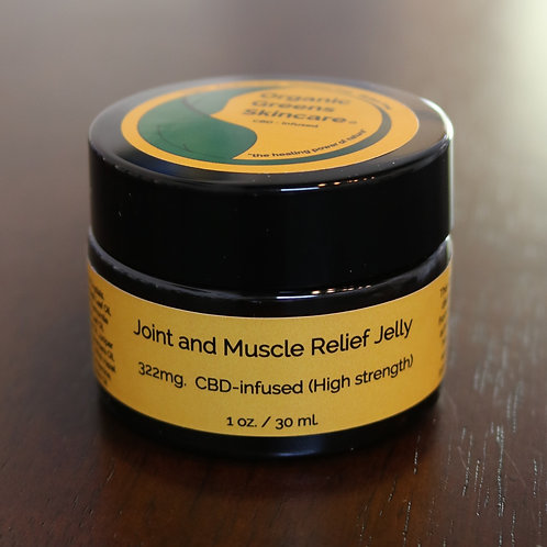 Joint & Muscle Relief Jelly 2oz (High Strength)