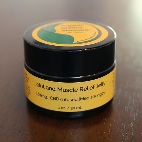 Joint & Muscle Relief Jelly 1oz (Medium Strength)