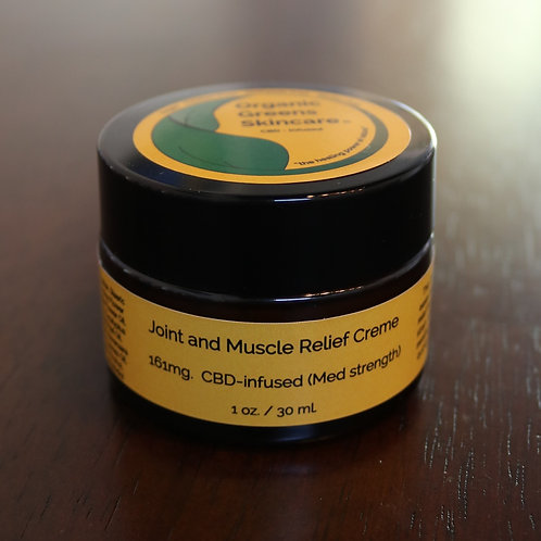 Joint & Muscle Relief Creme 1oz (Medium Strength)