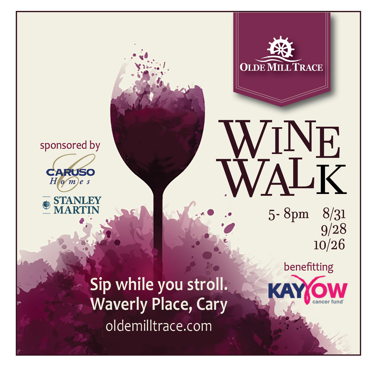 OMT Wine Walk Series EMarketing