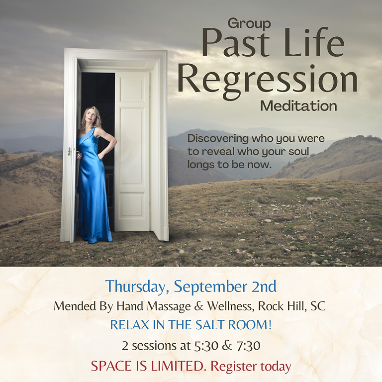 Group Past Life Regression September 2_5:30pm