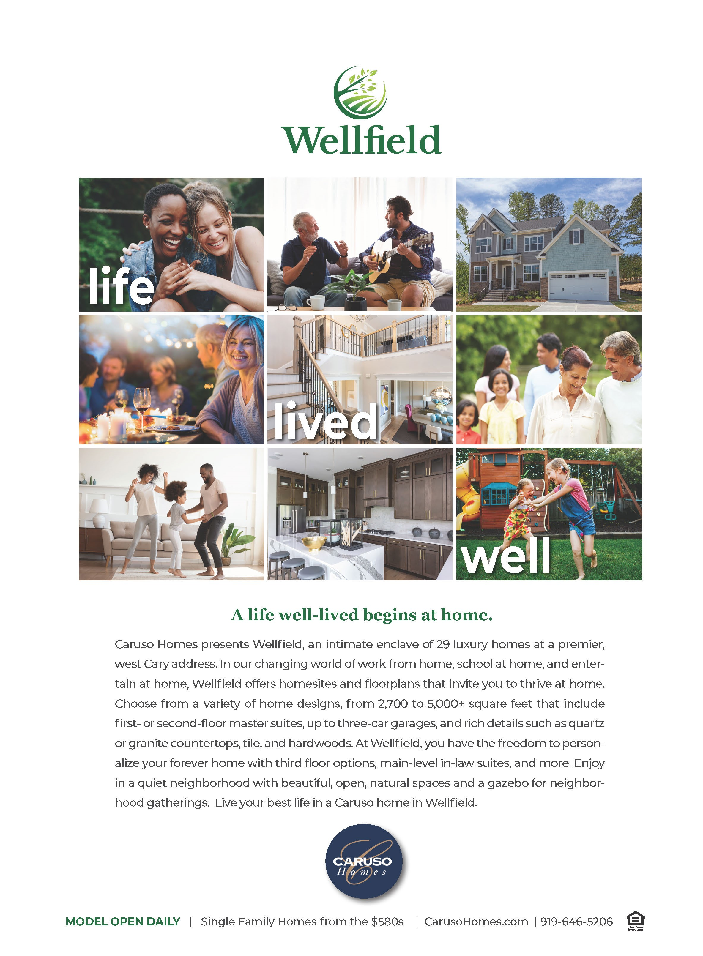 WELLFIELD ad New Home Guide