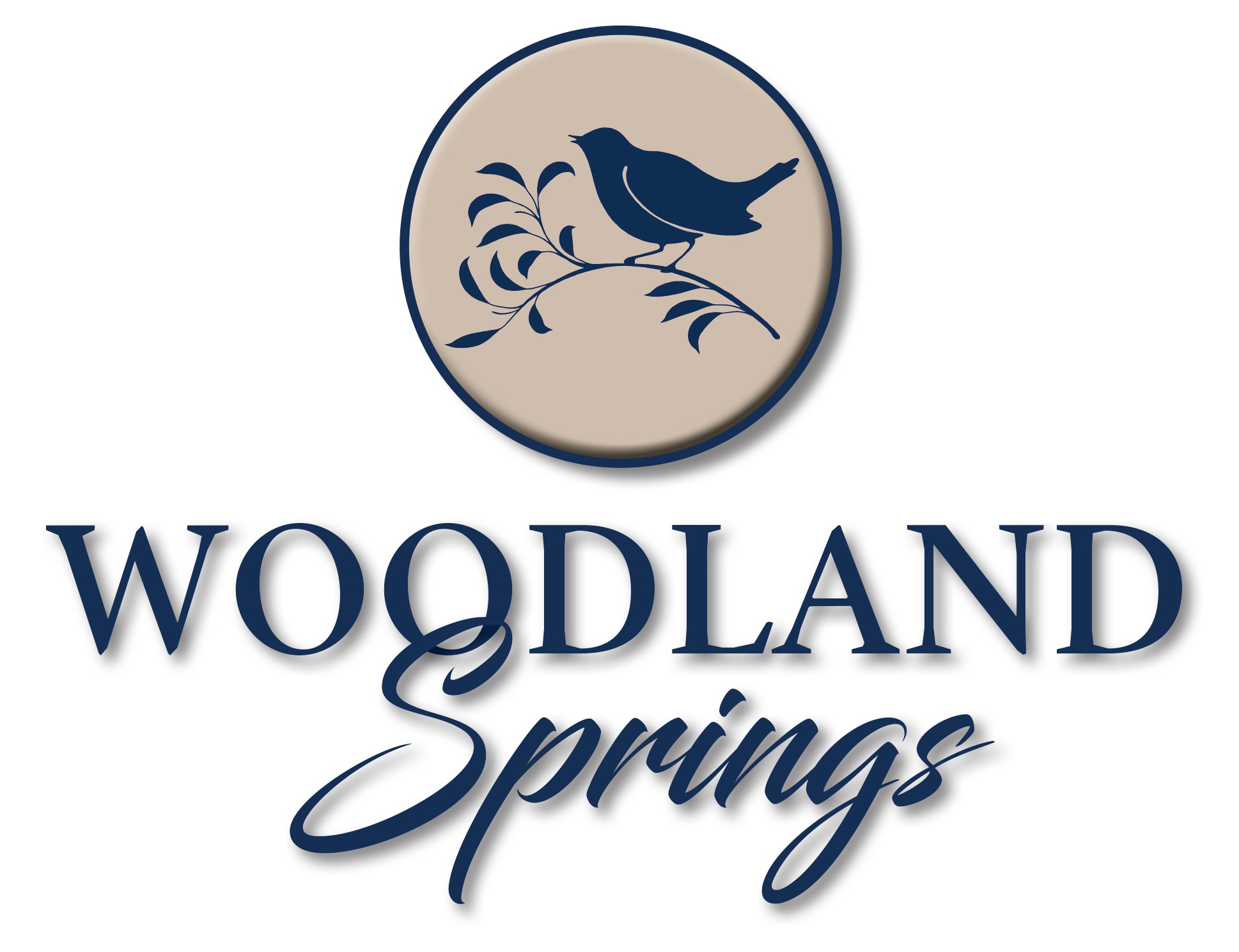 Woodland Springs Logo Design