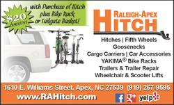Ad Design Raleigh Apex Hitch