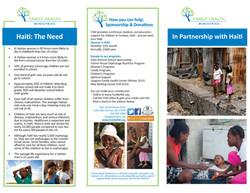 Family Health Ministries Brochure