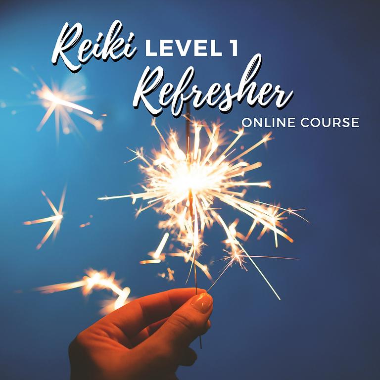 Reiki Level 1 Refresher ONLINE COURSE