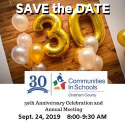 CISCC 30th Anniversary