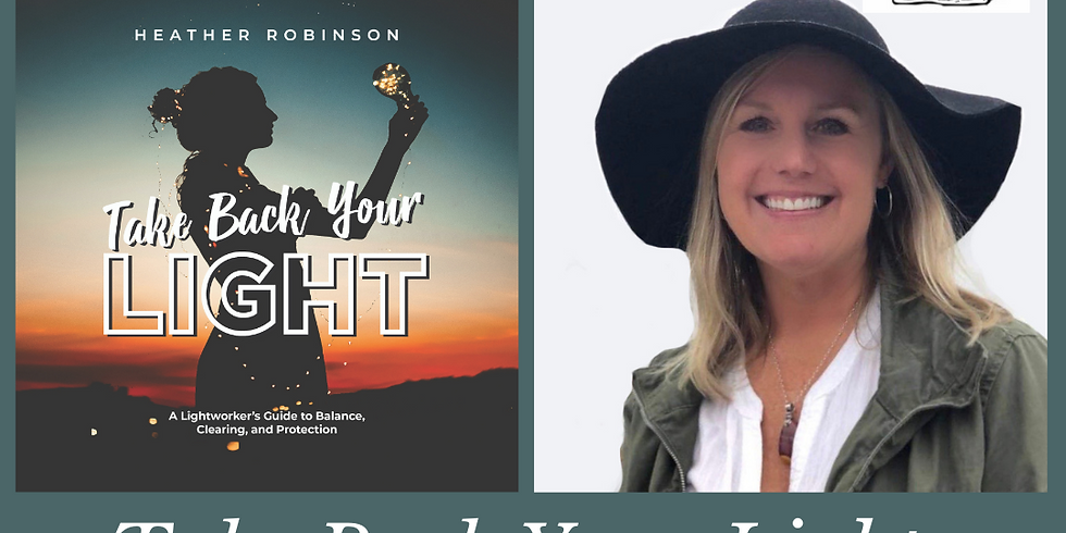 Virtual Book Group | Take Back Your Light FREE on Zoom